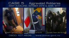 Case 5: Crime of the Week - West Auckland Aggravated Robberies