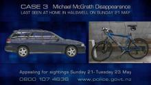 Case 3: Crime of the Week - Michael McGrath Disappearance, Christchurch