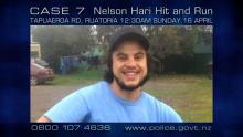 Case 7: Crime of the Week - Nelson Hari Hit and Run, Ruatoria