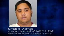 Case 5: Wanted - Jordan Michael WHAREHINGA