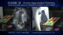 Case 3: Crime of the Week - McGinty's Aggravated Robbery, Huntly