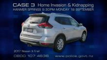 Case 3: Crime of the Week - Hanmer Springs Home Invasion, Canterbury - car
