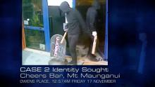 Case 2: Identity Sought - Cheers Bar, Mt Maunganui