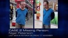 Case 2: Missing Person - Nigel Peterson
