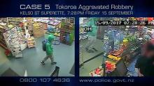 Case 5: Crime of the Week - Kelso Superette Aggravated Robbery, Tokoroa