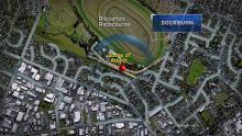 Case 7: Crime of the Week - Riccarton Racecourse Serious Assault, Christchurch - map
