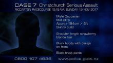 Case 7: Crime of the Week - Riccarton Racecourse Serious Assault, Christchurch - profile 1