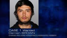 Case 1: Wanted - Damien BROWN