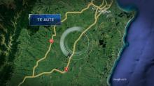 Case 3: Crime of the Week - Hemi Rapaea Fatal Crash, Hawkes Bay map