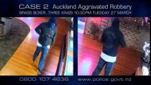 Case 2: Crime of the Week - Brass Boxer Aggravated Robbery, Auckland
