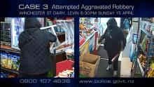 Case 3: Crime of the Week - Winchester Street Dairy Aggravated Robbery, Levin