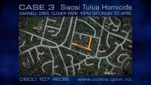 Case 3: Crime of the Week - Op Alva: Siaosi Tulua Homicide, Clover Park, Auckland