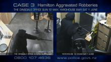 Case 3: Crime of the Week - Hamilton Bar Aggravated Robberies