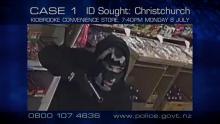 Case 1: ID Sought - Christchurch Convenience Store