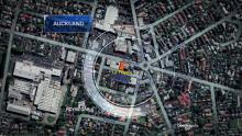 Google map view of location La Fogata where robbery occurred.