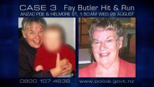 Case 3: Crime of the Week - Fay Butler Hit and Run, Whanganui