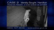 night CCTV photo of two guys