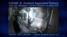 Case 3: Crime of the Week - Tidal Road Aggravated Robbery Mangere, Auckland