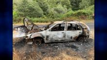 Julian Varley burnt car found