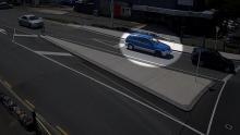 Julian Varley Nissan Pulsar blue