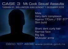 text description of suspected guy for case 3