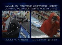 CCTV footage of Vivian St Corner Store robbery