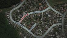 Google map of  Mahinawa Street, Shooting at Porirua