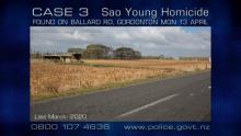 Ballard rd, gordonton, where body of Sao Youngfound