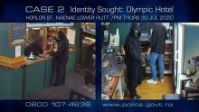 CASE 2: ID SOUGHT - Olympic Hotel Aggravated Robbery