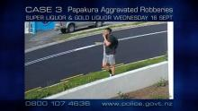 Case 3: Crime of the Week - Papakura Liquor Store Robberies, Auckland