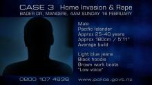 CASE 3: Crime of the Week - Mangere Home Invasion & Rape, Auckland