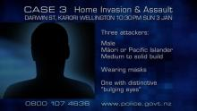 CASE 3: Crime of the Week - Karori Home Invasion / Assault, Wellington