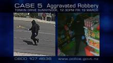 CASE 5: Crime of the Week - Tonkin Drive Aggravated Robbery, Sunnynook CCTV 3