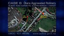 CASE 6: Crime of the Week - Gilbert Road Superette Agg Rob, Ōtara