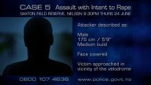 CASE 5: Crime of the Week - Nelson Assault with Intent to Rape