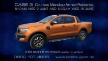 CASE 3: Crime of the Week - Counties Manukau Armed Robberies - ute 1