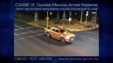 CASE 3: Crime of the Week - Counties Manukau Armed Robberies - ute 2