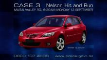 CASE 3: Crime of the Week - Nelson Hit & Run car