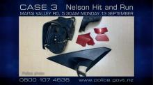 CASE 3: Crime of the Week - Nelson Hit & Run parts