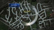 CASE 4: Crime of the Week - Sunnybrook Aggravated Robbery, Rotorua map