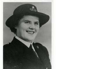Auckland's Constable Molly Sim was taken in 1952