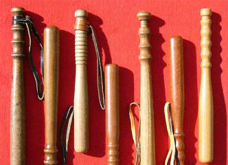 Wooden pocket batons