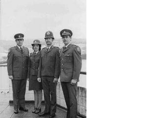 Men's and women's new uniform 1976