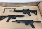 Firearms found in Te Atatu