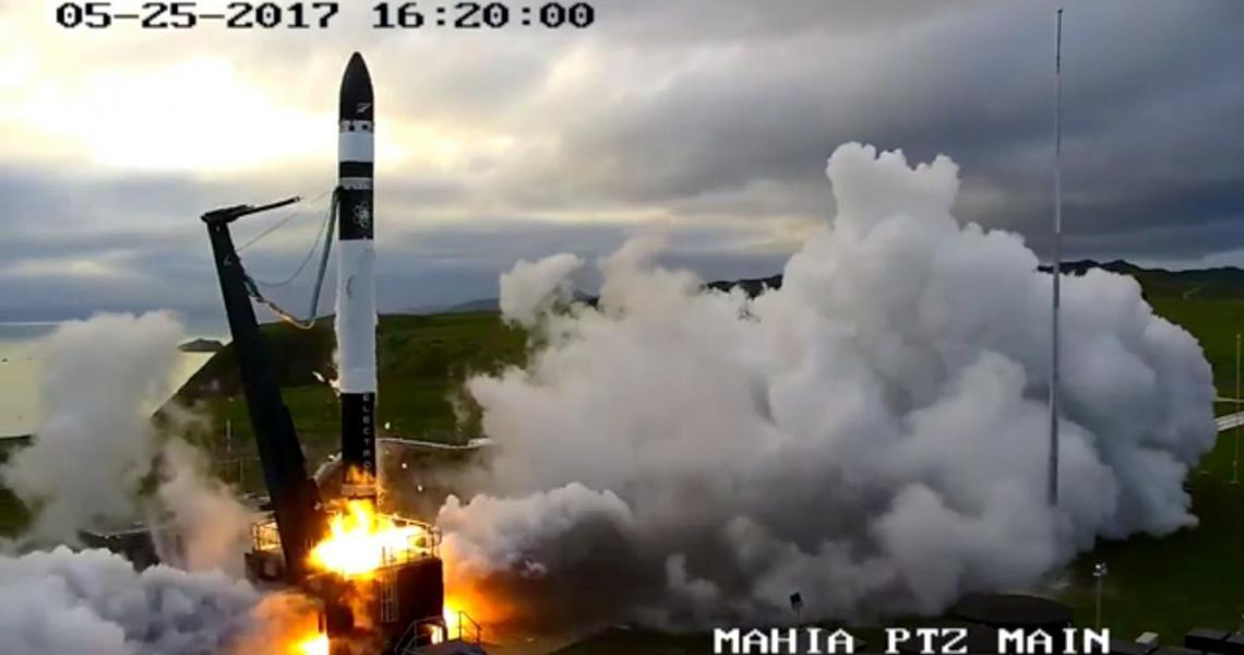 To Mahia and beyond - the Electron rocket blasts off.