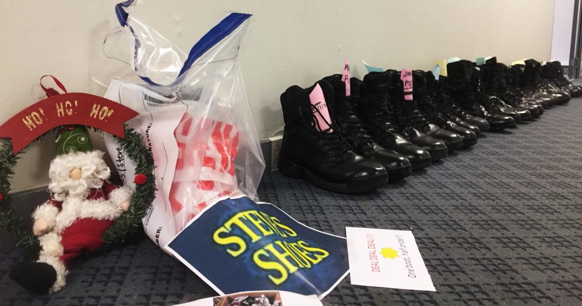 M Wellington boots