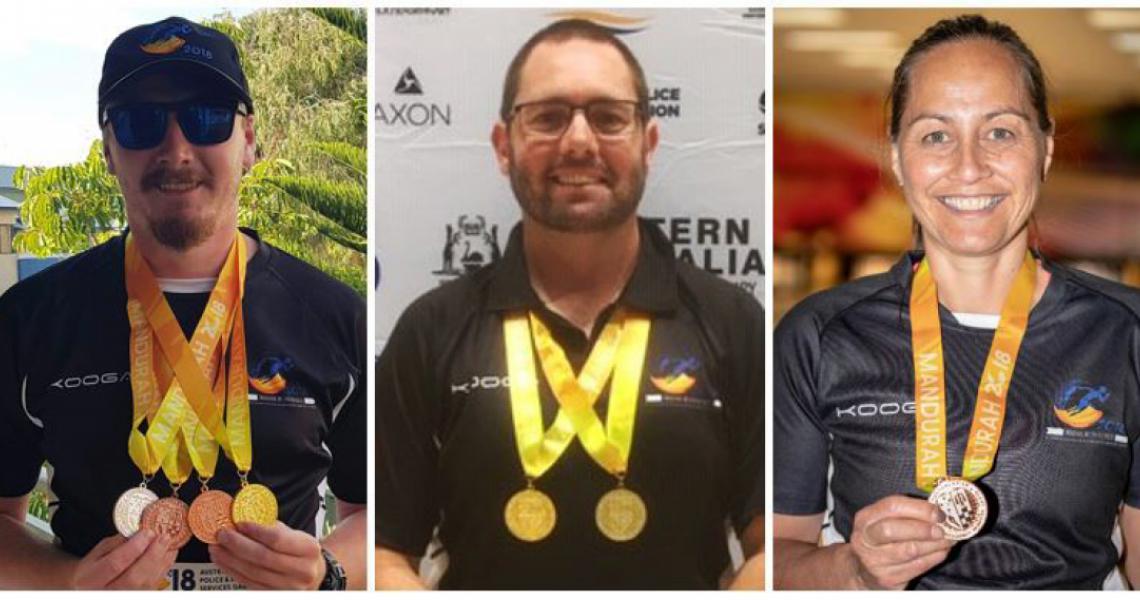 games medals trio