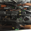 Prohibited firearms collected today, 13 July, at Riccarton Racecourse