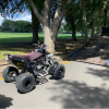A quad bike was impounded following an incident at Walter Massey Park