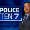 Police Ten 7 logo and presenter Detective Sergeant Rob Lemoto